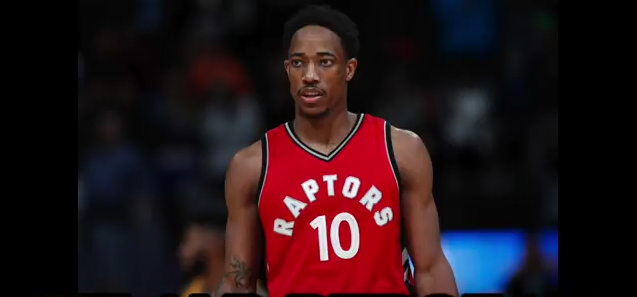 DeRozan Toronto Raptors