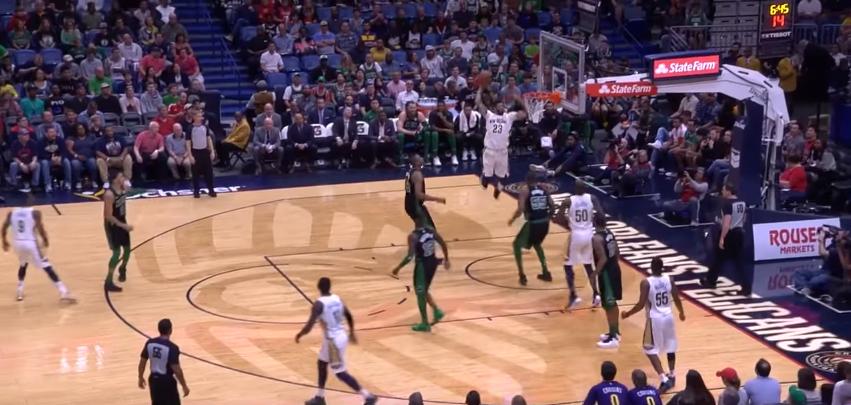 Boston Celtics @ New Orleans Pelicans 89-108: Davis affonda la truppa di Brad Stevens