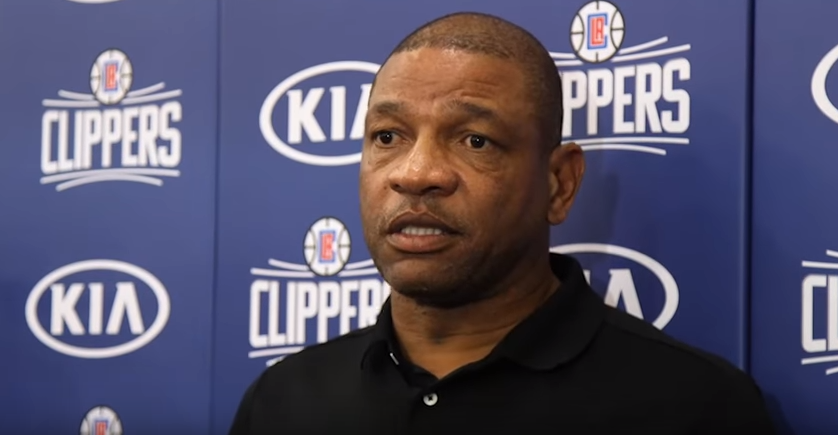 Doc Rivers, head coach dei Los Angeles Clippers