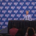 """Warriors, Kerr: """"Troppi palloni persi. Preoccupato? No, possiamo farcela"""""""
