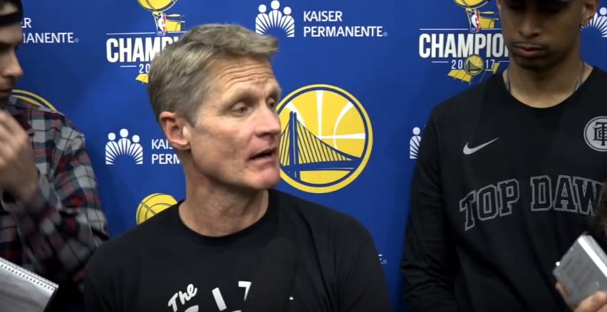 """Warriors, Kerr: """"Ultimo ballo insieme? Spero proprio di no"""""""