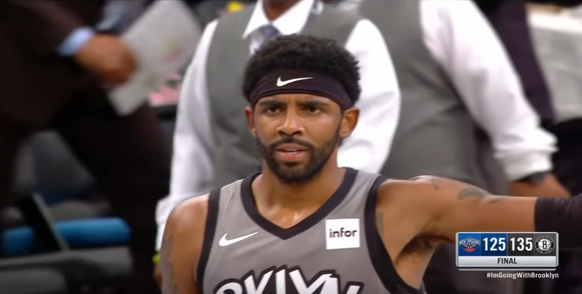 Nets, stagione finita per Kyrie Irving