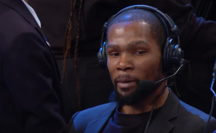 """Durant sull'MVP: """"I criteri andrebbero cambiati, considerando i play-off avrebbe vinto LeBron"""""""