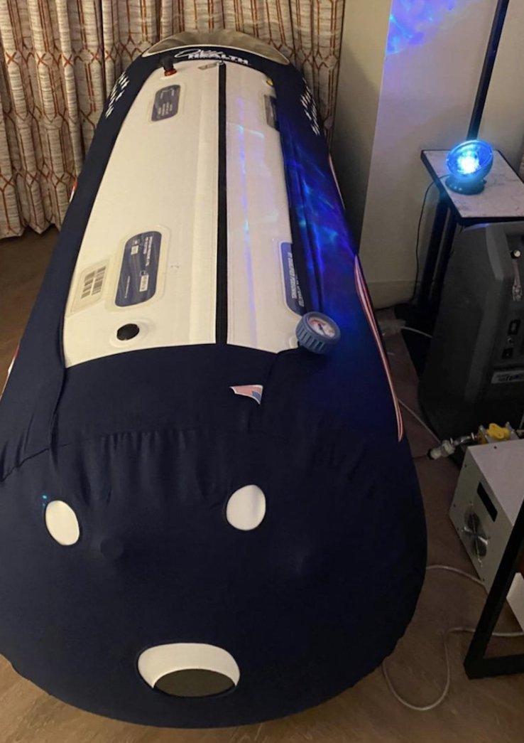 Jaylen Brown e il suo letto speciale portato ad Orlando